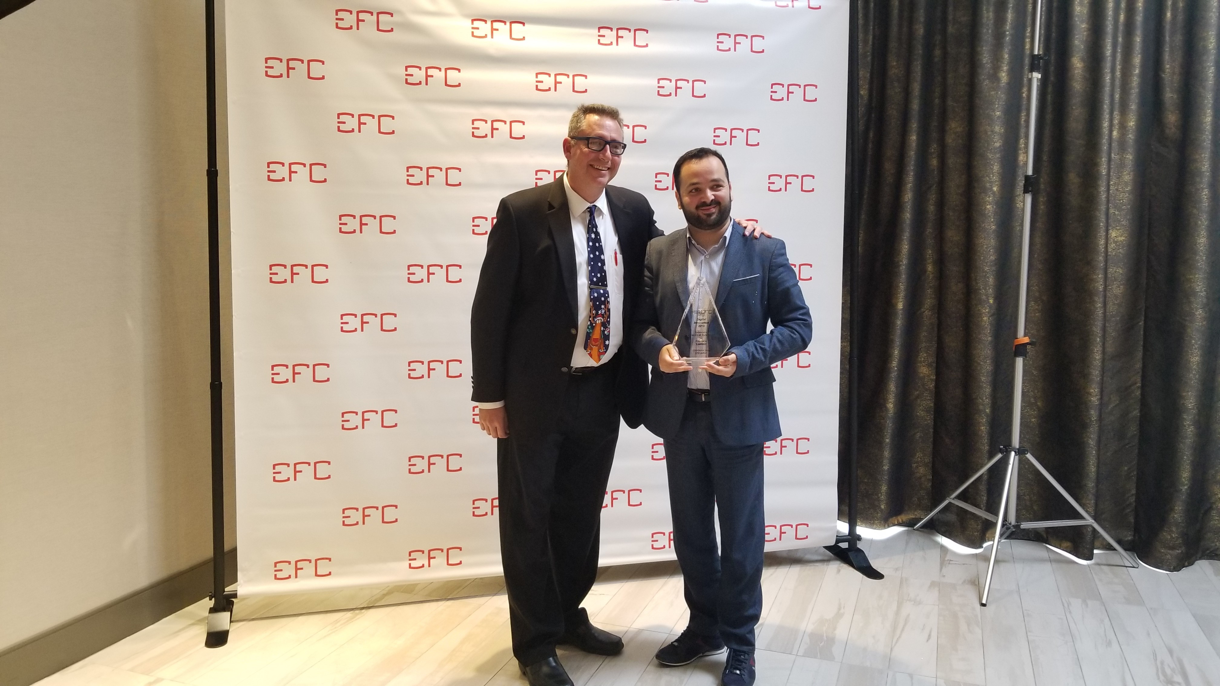Lumen wins EFC Digital Marketing Award